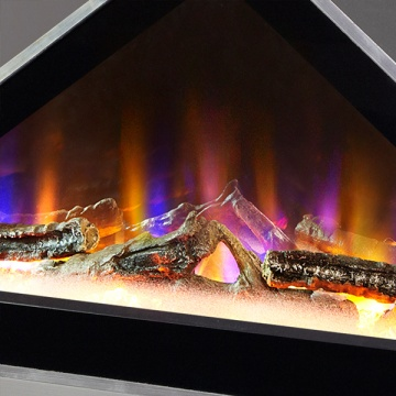 Celsi Electriflame Vr Louvre Wall Mounted Electric Fire